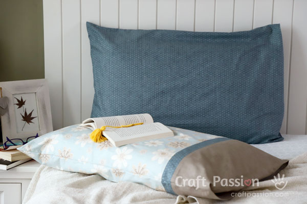 quick to sew pillowcase