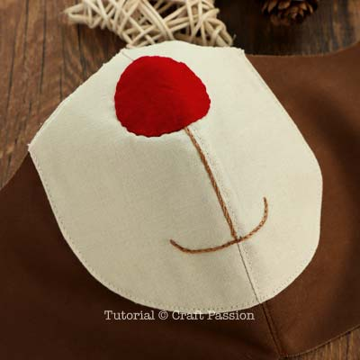 craft passion reindeer face mask