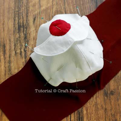 santa face mask sewing pattern