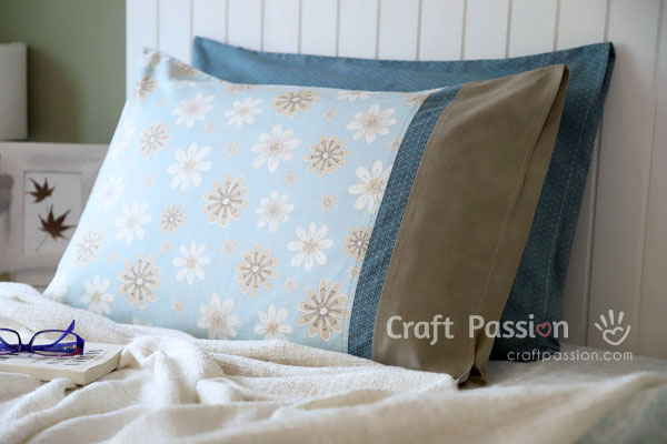 Sew Envelope Pillowcase With French Seam