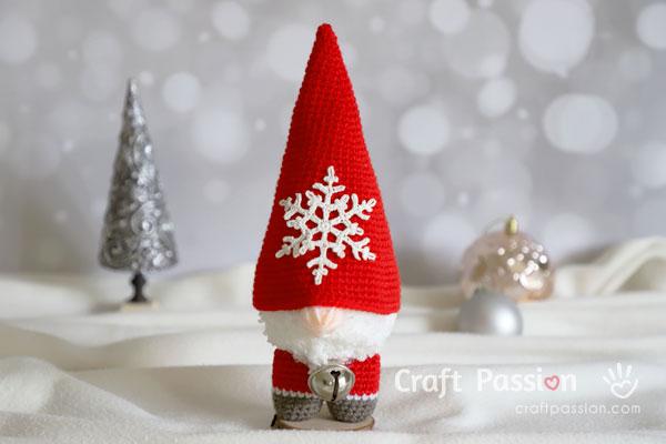 Gnome Amigurumi Crochet Pattern