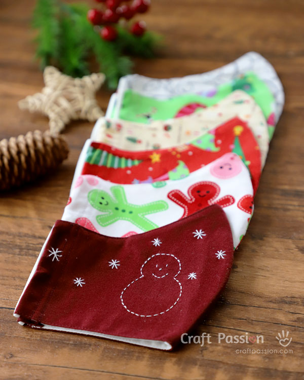 christmas pack sewing pattern