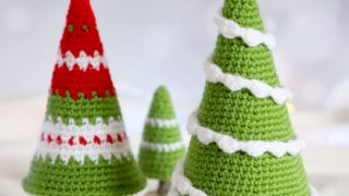 pine tree crochet pattern