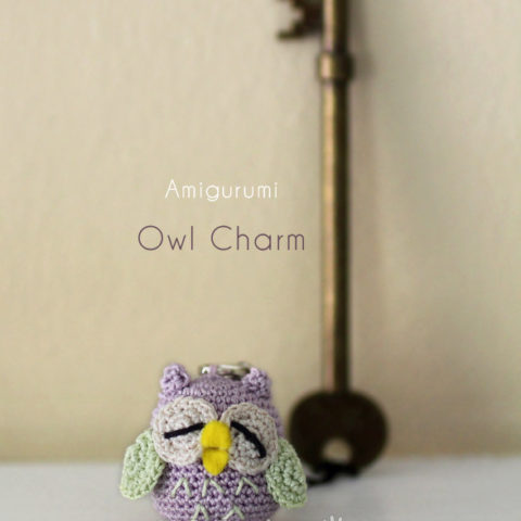 LITTLE OWL CHARM AMIGURUMI PATTERN