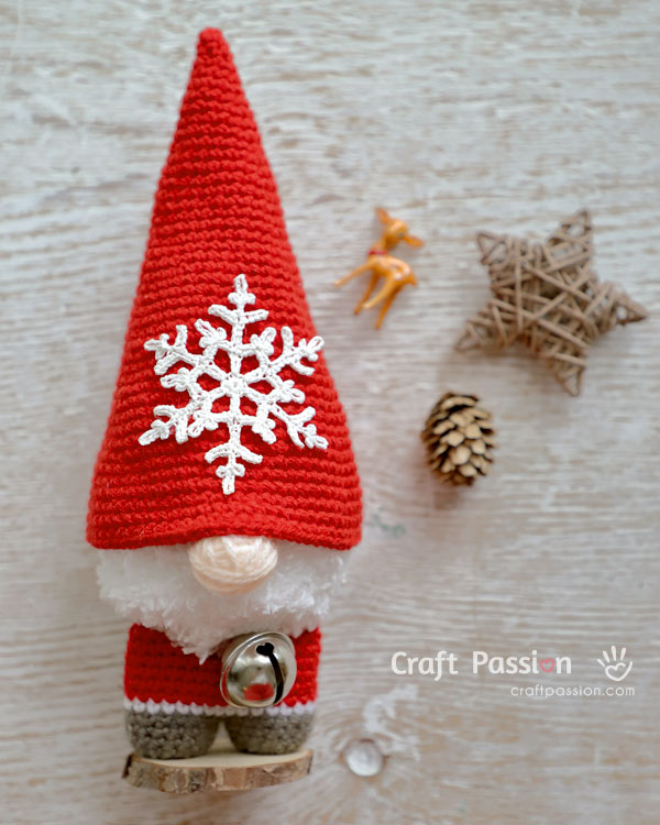 easy gnome pattern