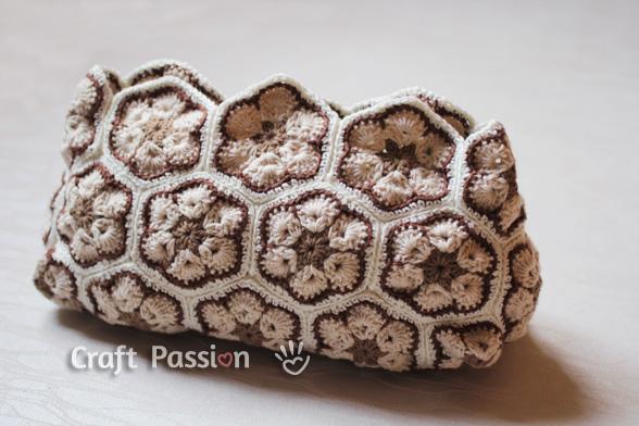 crochet african flower bag 2