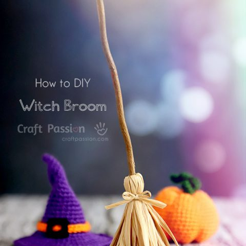how to make witch broom