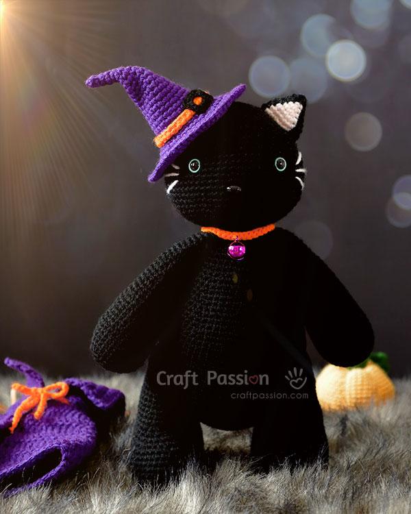 черная кошка ведьма