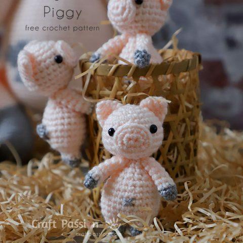 amigurumi piglet crochet pattern