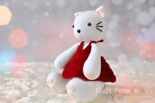 Crochet Doll Dress Pattern For Amigurumi