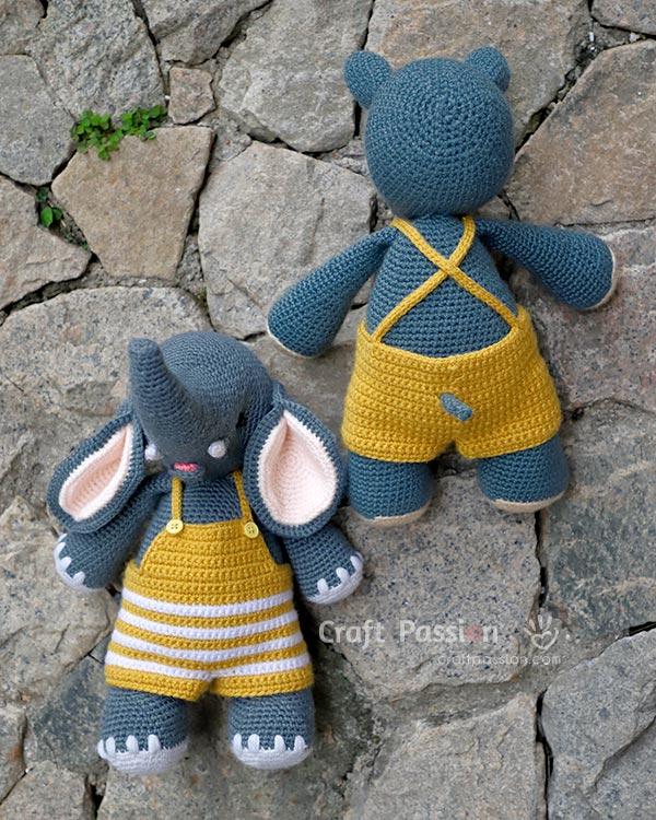 amigurumi clothes crochet pattern