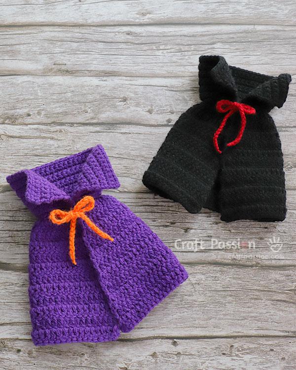 crochet witch cape pattern