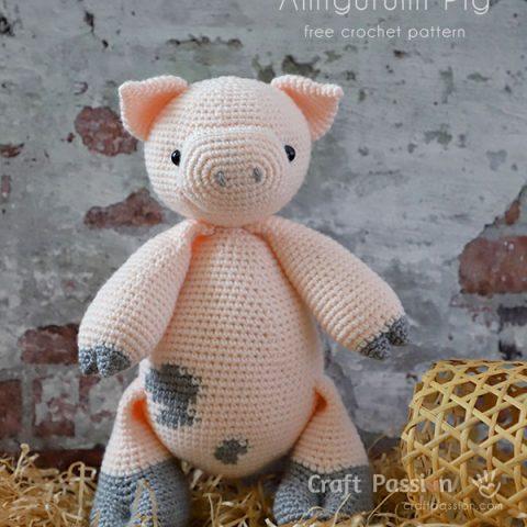 amigurumi pig crochet pattern