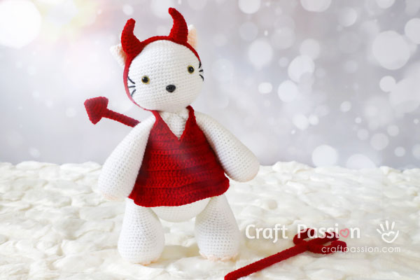 Crochet Devil Horns And Tail Patterns