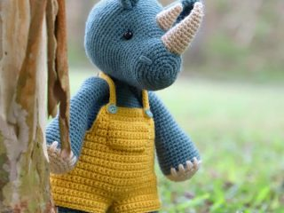 amigurumi rhino crochet pattern