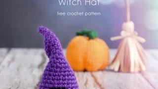 witch hat crochet pattern