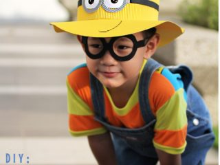how to make minion hat