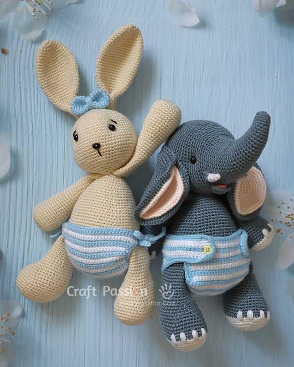 panties diapers crochet pattern