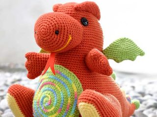 amigurumi dragon pattern