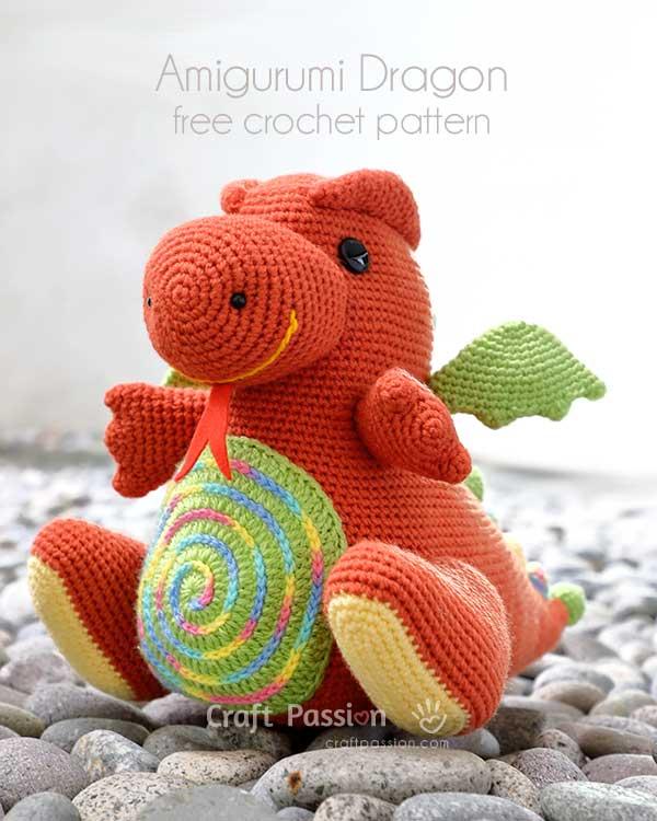 dragon amigurumi pattern