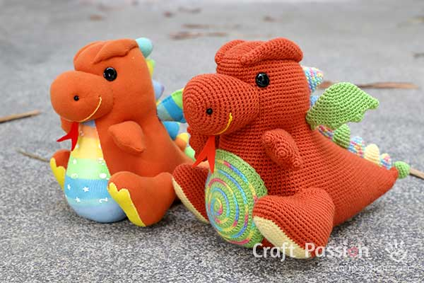 dragon doll patterns