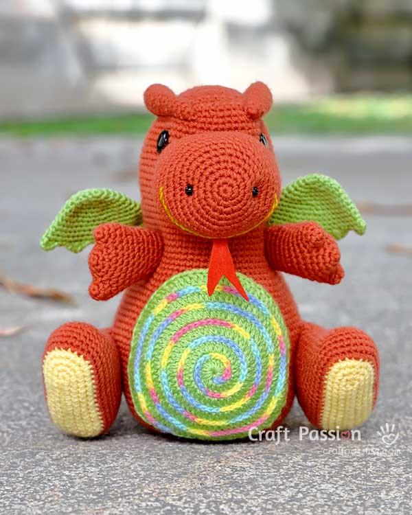 free dragon amigurumi pattern