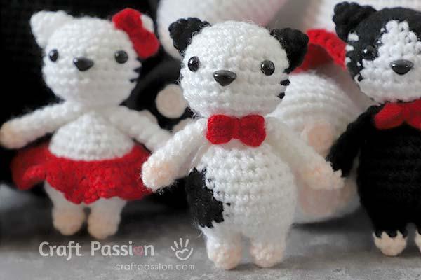 Amigurumi Kitten Crochet Pattern