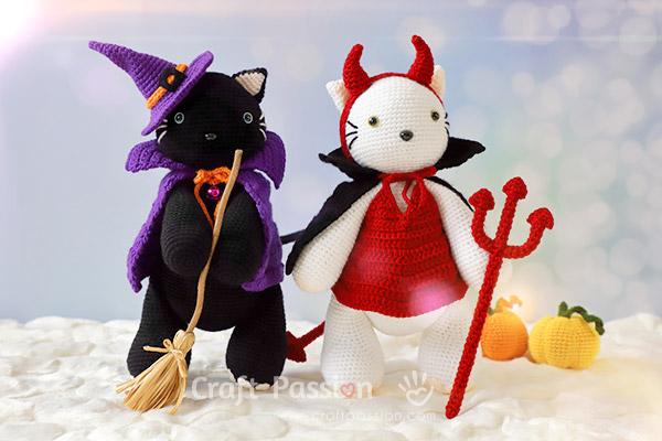 devil cape crochet pattern